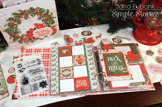 Jana Eubank Simple Stories Country Christmas Layout 5 800