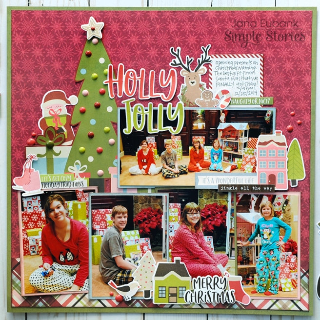 Jana Eubank Simple Stories Holly Jolly Layout 1 800