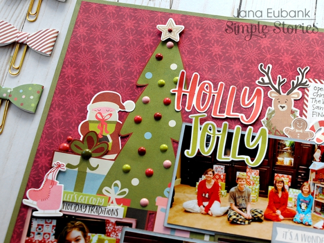 Jana Eubank Simple Stories Holly Jolly Layout 2 800
