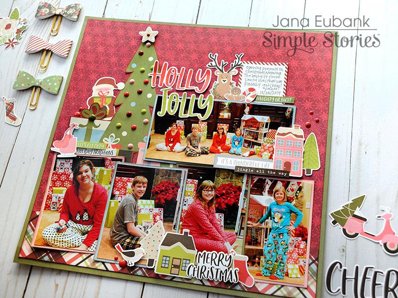 Jana Eubank Simple Stories Holly Jolly Layout 6 800