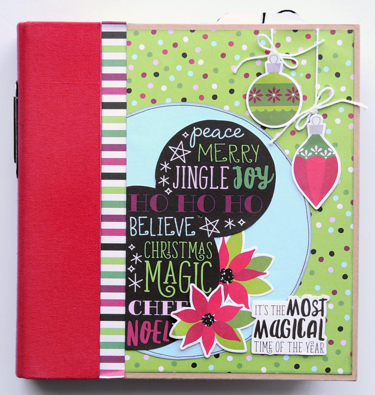 1 Jana Eubank Simple Stories Say Cheese Christmas SNAP Album