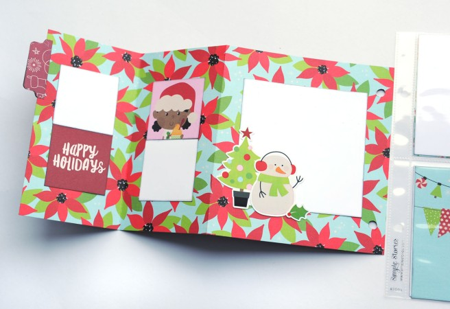 10b Jana Eubank Simple Stories Say Cheese Christmas SNAP Album