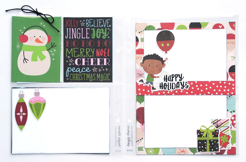 11 Jana Eubank Simple Stories Say Cheese Christmas SNAP Album