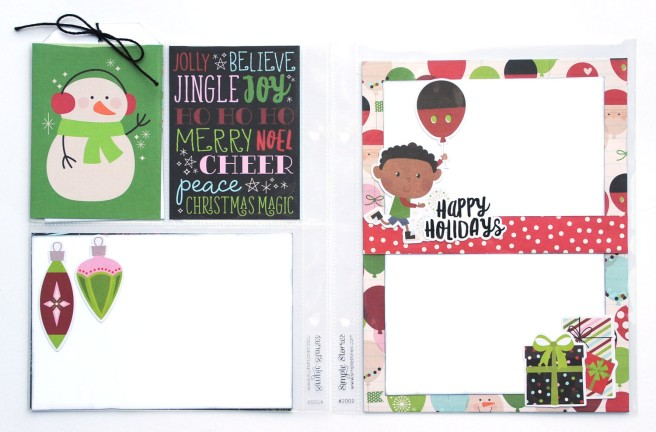 11 Jana Eubank Simple Stories Say Cheese Christmas SNAP Album