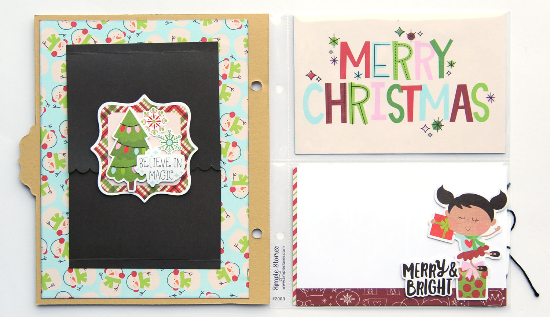 13 Jana Eubank Simple Stories Say Cheese Christmas SNAP Album