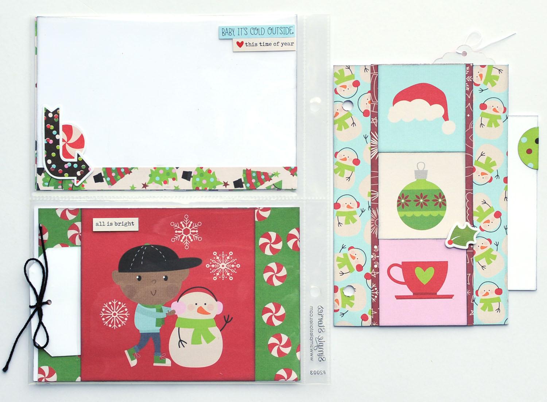14 Jana Eubank Simple Stories Say Cheese Christmas SNAP Album