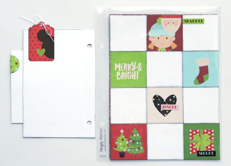 15 Jana Eubank Simple Stories Say Cheese Christmas SNAP Album