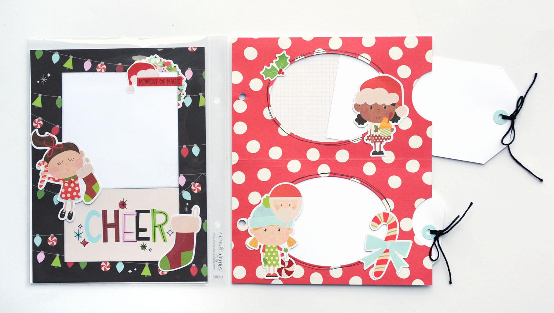 16 Jana Eubank Simple Stories Say Cheese Christmas SNAP Album