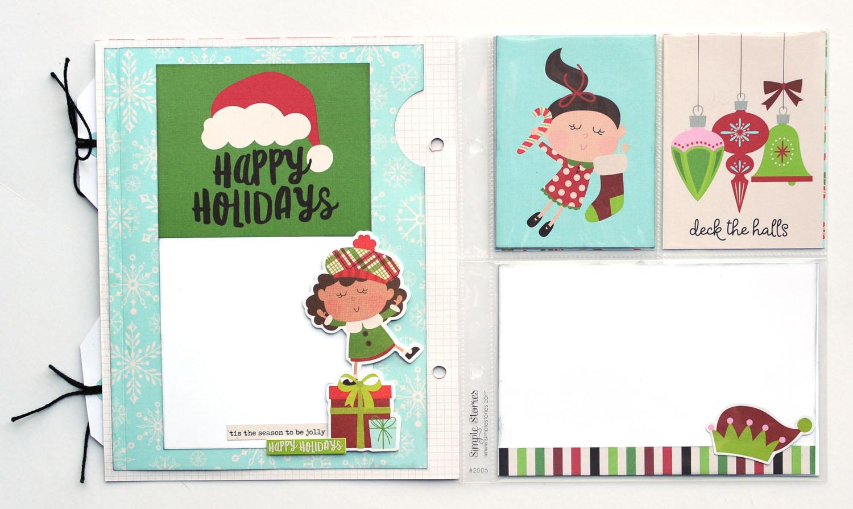 17 Jana Eubank Simple Stories Say Cheese Christmas SNAP Album