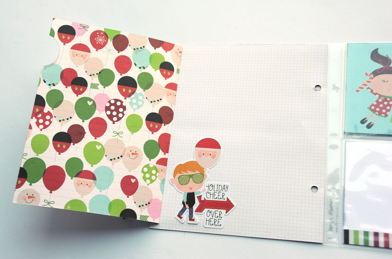 17b Jana Eubank Simple Stories Say Cheese Christmas SNAP Album