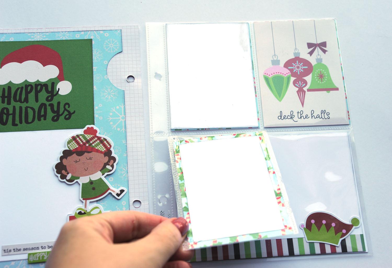 17c Jana Eubank Simple Stories Say Cheese Christmas SNAP Album