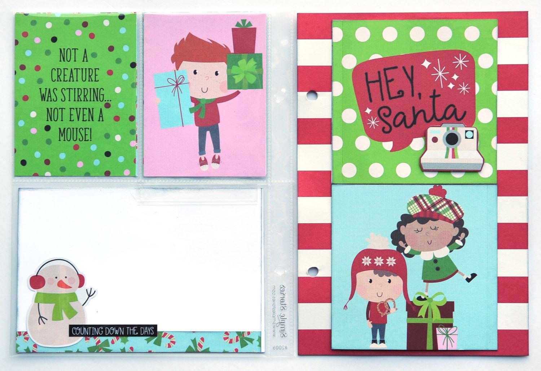 18 Jana Eubank Simple Stories Say Cheese Christmas SNAP Album