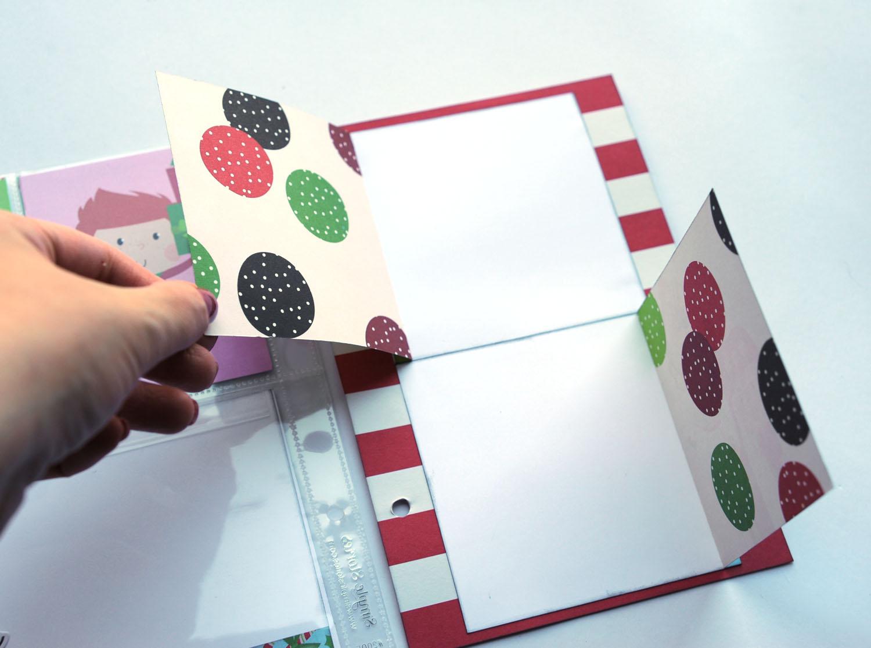 18b Jana Eubank Simple Stories Say Cheese Christmas SNAP Album