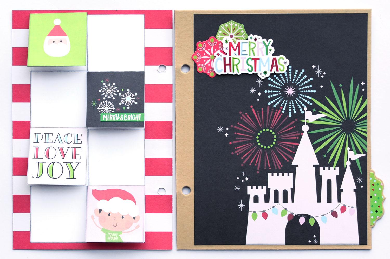 19 Jana Eubank Simple Stories Say Cheese Christmas SNAP Album