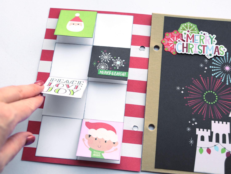 19b Jana Eubank Simple Stories Say Cheese Christmas SNAP Album