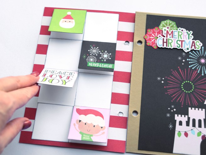 19b Jana Eubank Simple Stories Say Cheese Christmas SNAP Album