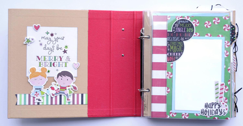 2 Jana Eubank Simple Stories Say Cheese Christmas SNAP Album