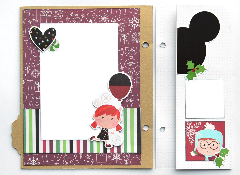 20 Jana Eubank Simple Stories Say Cheese Christmas SNAP Album