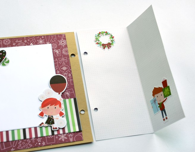 20b Jana Eubank Simple Stories Say Cheese Christmas SNAP Album