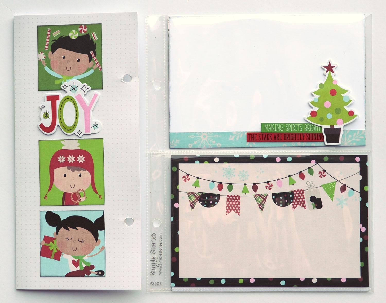 21 Jana Eubank Simple Stories Say Cheese Christmas SNAP Album