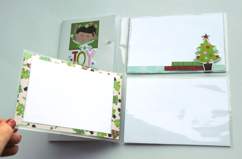 21b Jana Eubank Simple Stories Say Cheese Christmas SNAP Album