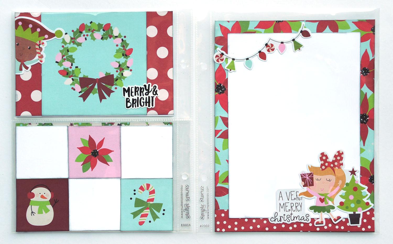 22 Jana Eubank Simple Stories Say Cheese Christmas SNAP Album