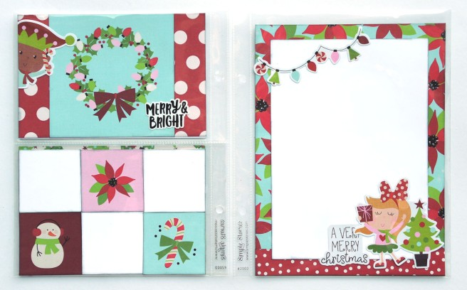 22 Jana Eubank Simple Stories Say Cheese Christmas SNAP Album