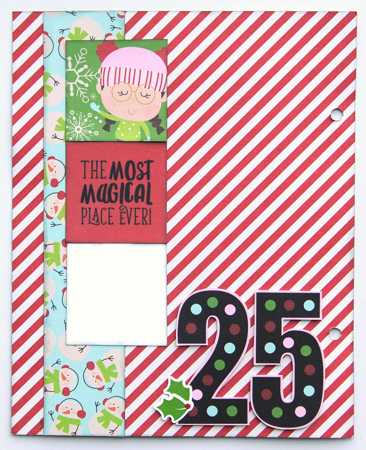 25 Jana Eubank Simple Stories Say Cheese Christmas SNAP Album