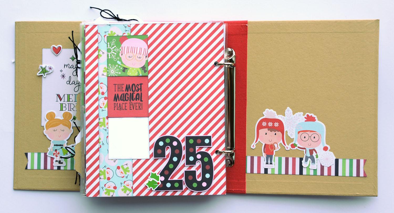 26 Jana Eubank Simple Stories Say Cheese Christmas SNAP Album