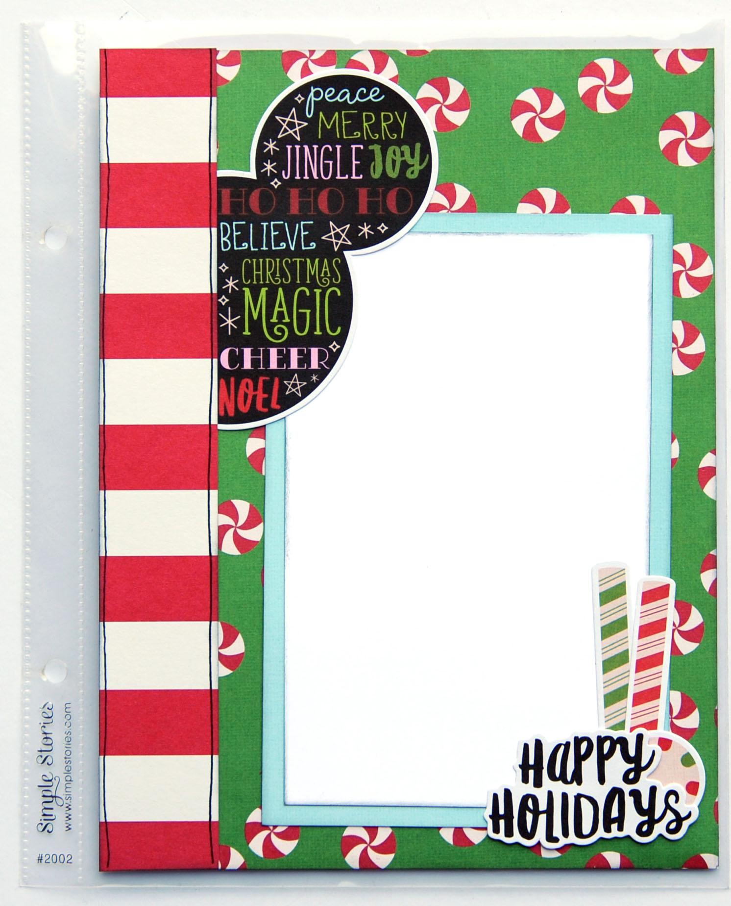 3 Jana Eubank Simple Stories Say Cheese Christmas SNAP Album