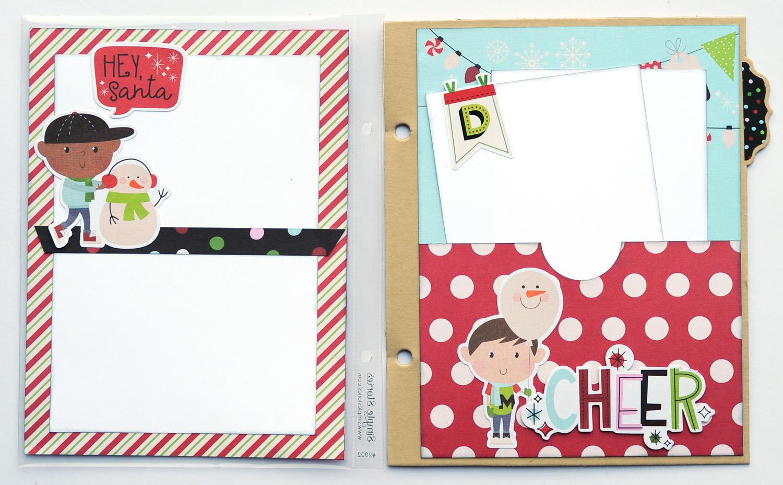 4 Jana Eubank Simple Stories Say Cheese Christmas SNAP Album