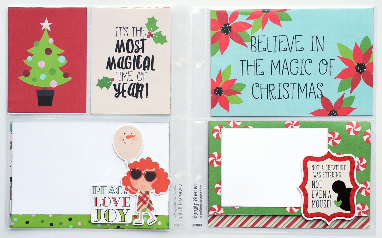 6 Jana Eubank Simple Stories Say Cheese Christmas SNAP Album