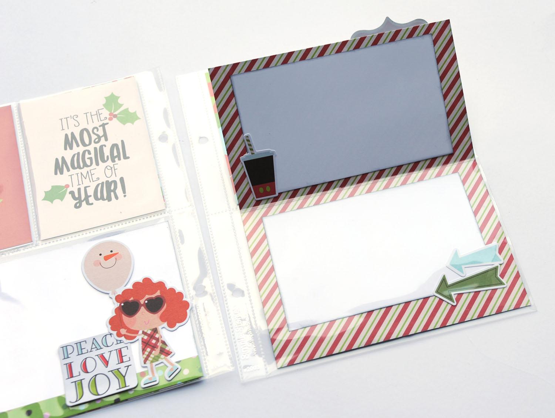 6b Jana Eubank Simple Stories Say Cheese Christmas SNAP Album