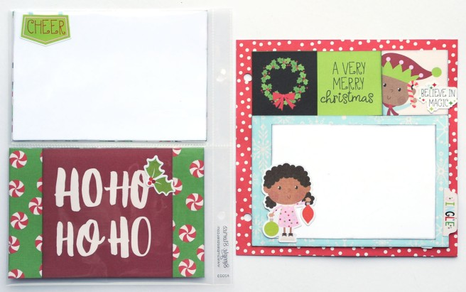 7 Jana Eubank Simple Stories Say Cheese Christmas SNAP Album