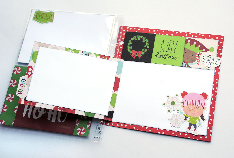 7b Jana Eubank Simple Stories Say Cheese Christmas SNAP Album