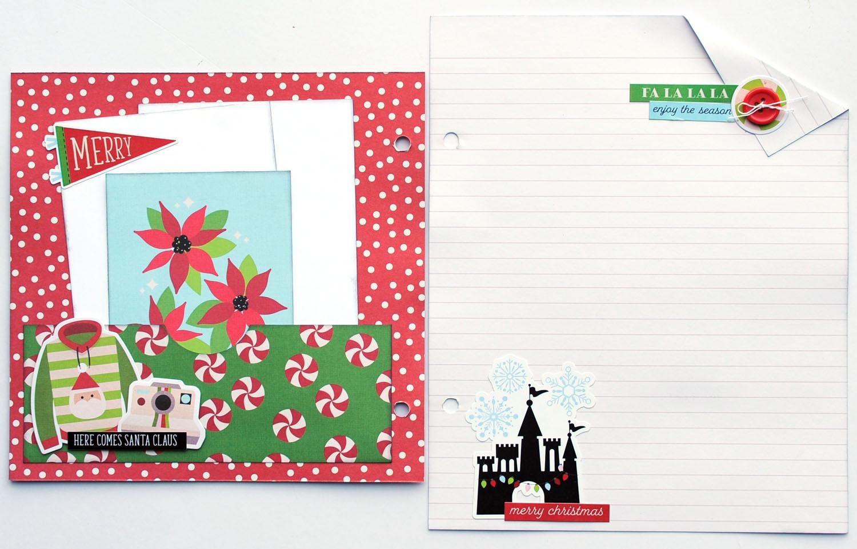 8 Jana Eubank Simple Stories Say Cheese Christmas SNAP Album